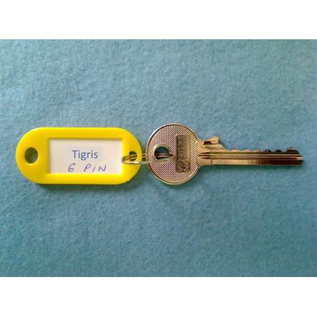 Tigris 6 pin bump key
