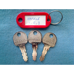Hafele master key set