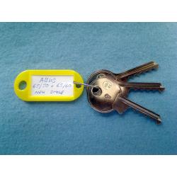 Abus 65/50 and 65/60 new style keyway bump keys FULL SET.