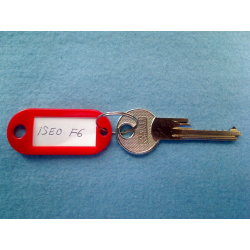 Iseo F6, 6 pin bump key
