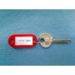 GEGE 5 pin bump key