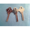 Lockwood 6 pin reversed bump key set (3 key)