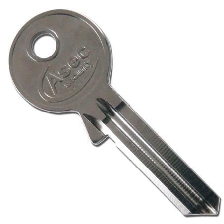 Asec 5 pin key blank, standard profile