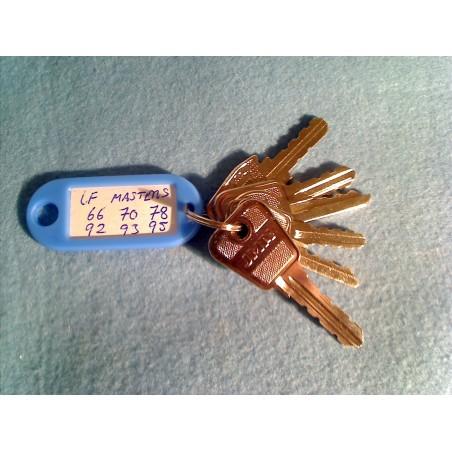 Lowe and Fletcher Master Keys Set