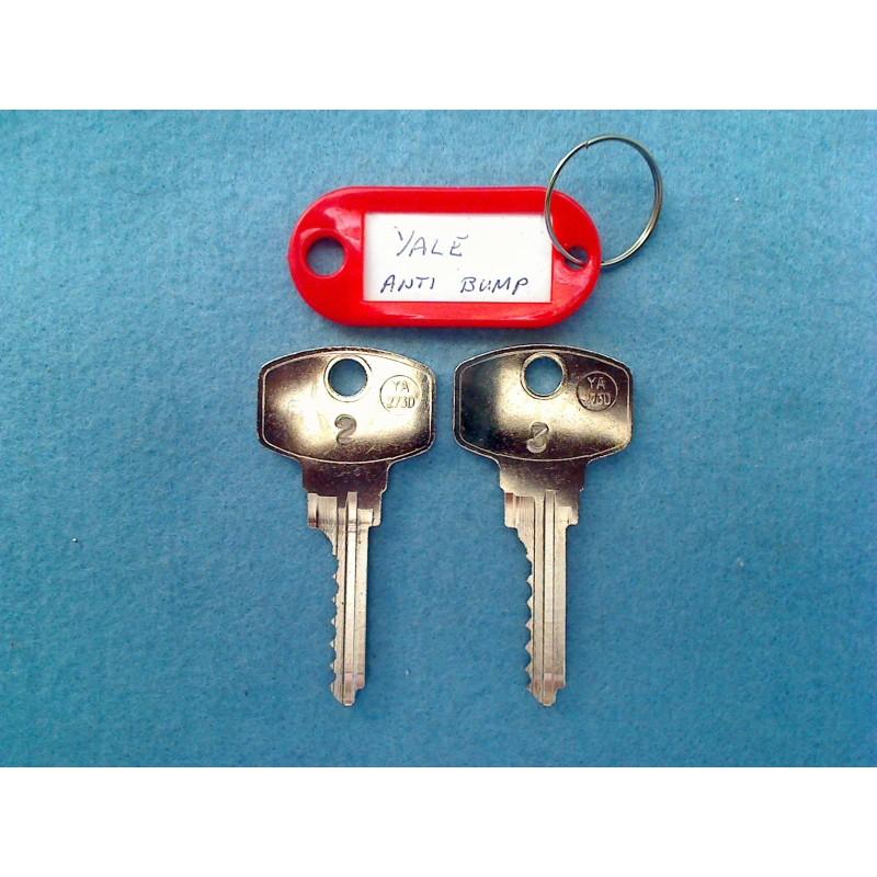 Yale Anti Bump, 6 pin bump key 2&3