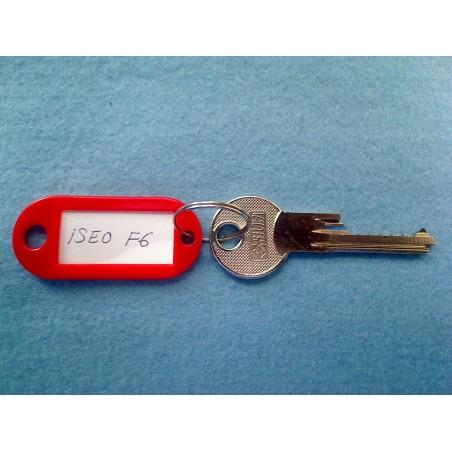 Iseo F6, 6 pin bump key