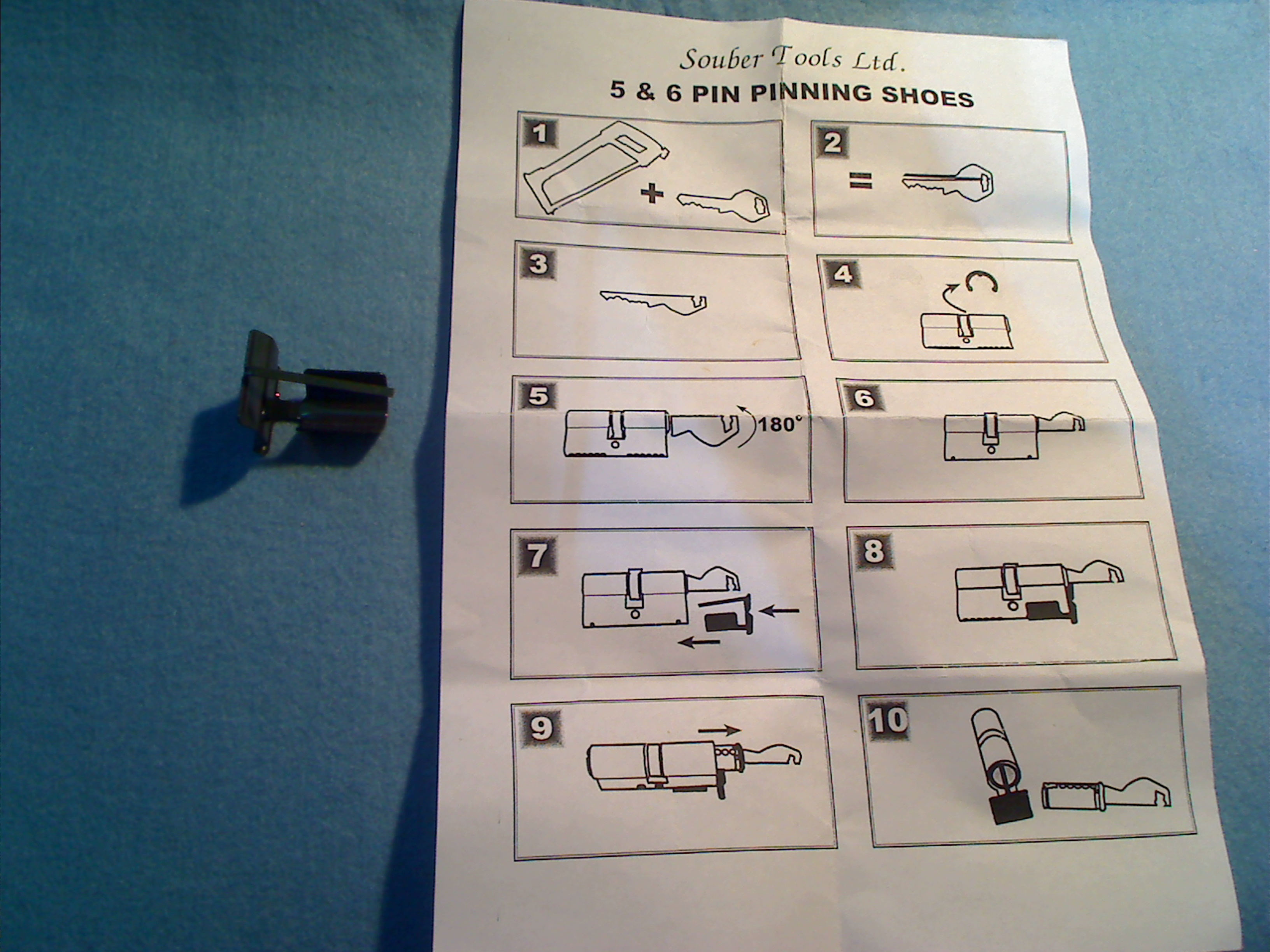 5 pin instructions